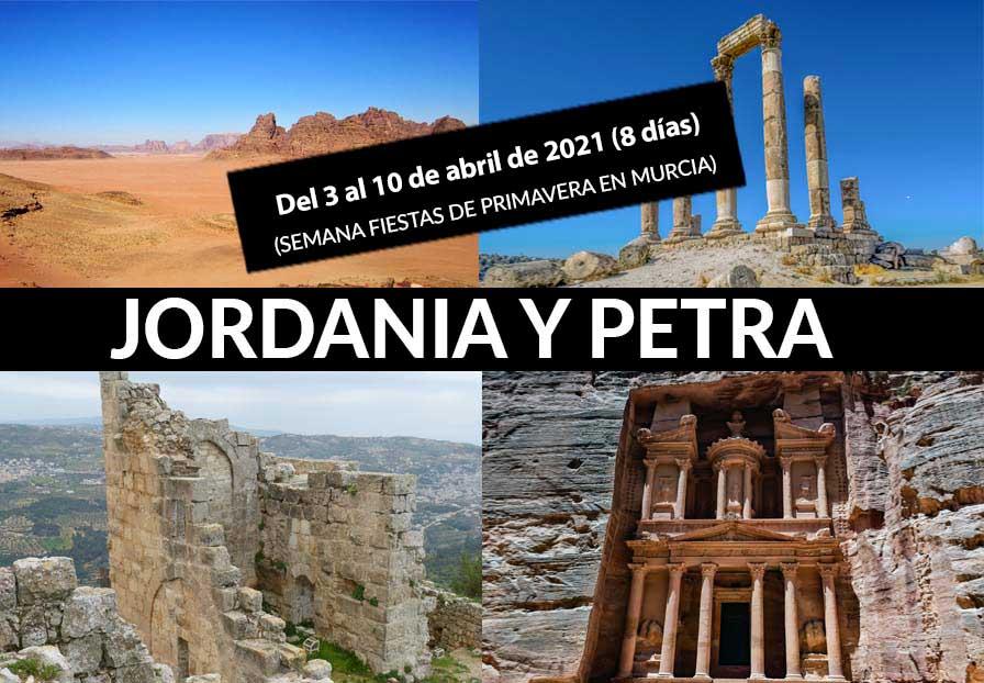 JORDANIA Y PETRA (8 DÍAS)