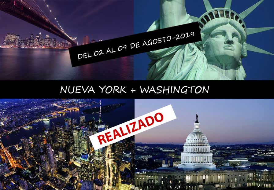 NUEVA YORK + WASHINGTON