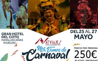 VIAJES ESPECIALES 2018 – CARNAVAL DE CADIZ