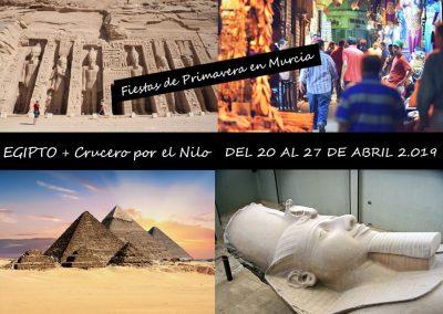 EGIPTO + CRUCERO POR EL NILO