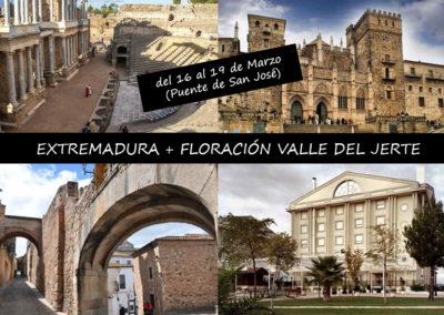 EXTREMADURA + FLORACIÓN VALLE DEL JERTE