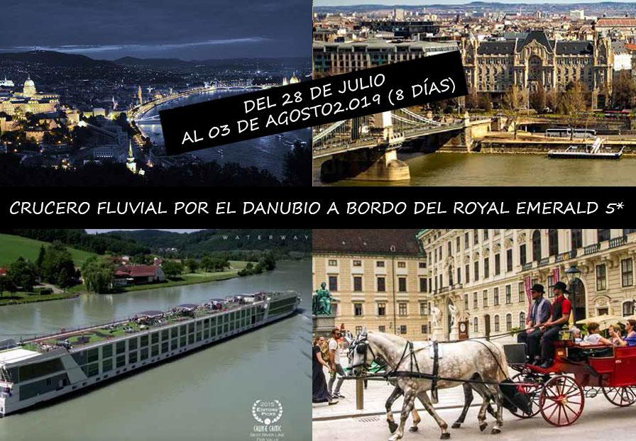 CRUCERO FLUVIAL POR EL DANUBIO A BORDO DEL ROYAL EMERALD 5*