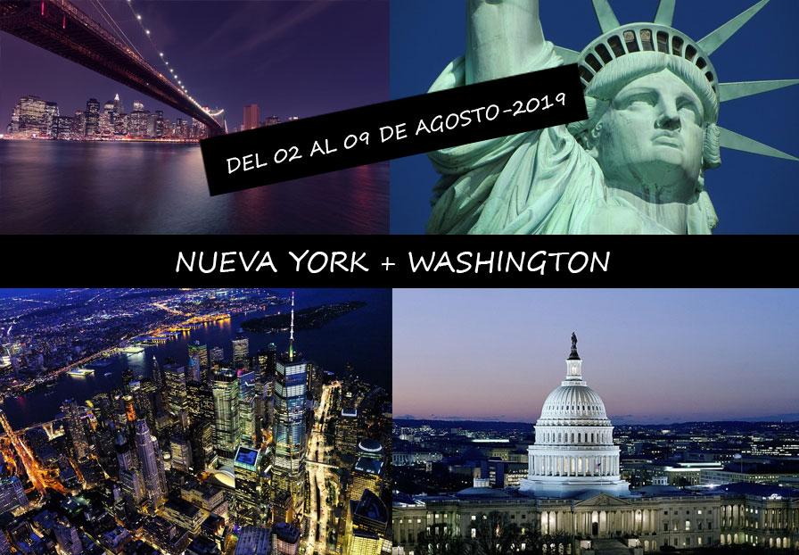 NUEVA YORK + WASHINGTON
