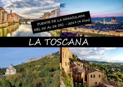 """"""" LA TOSCANA  + BODEGAS DEL CHIANTI + BOLONIA """""""