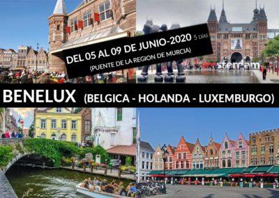 BENELUX (BÉLGICA – HOLANDA – LUXEMBURGO)