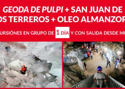 """GEODA DE PULPI + SAN JUAN DE  LOS TERREROS + OLEO  ALMANZORA"""