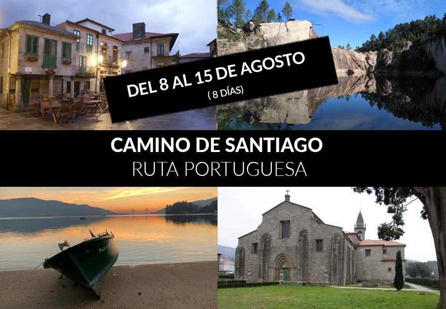 CAMINO DE SANTIAGO, RUTA PORTUGUESA.